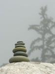 naslagani kamen okrugli