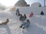 djeca i sneg