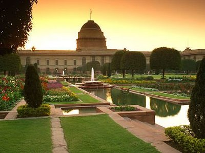 Viceroy's Palace Garden, India