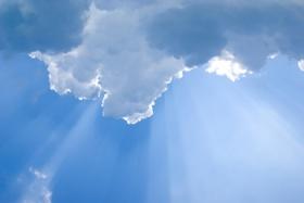 oblak i sunce