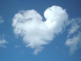 srce ljubav nebo